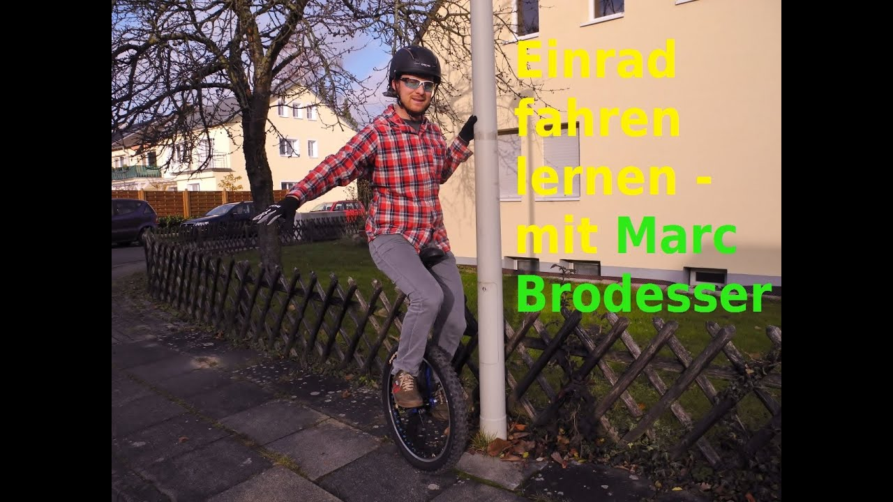 velonatur tipps einrad fahren lernen f r anf nger youtube. Black Bedroom Furniture Sets. Home Design Ideas