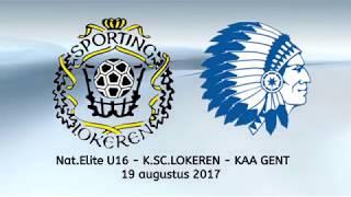 K.SC. Lokeren - KAA Gent - Nat Elite U16