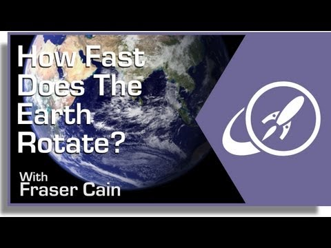 How Fast Does the Earth Rotate?