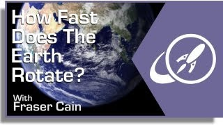 How Fast Does Earth Rotate