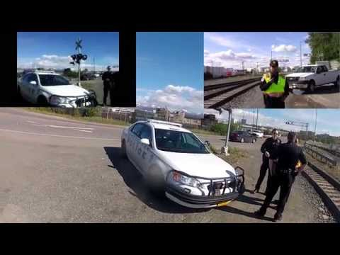 1st Amendment Test At The Port Of Anchorage (Poor Quality Audio)