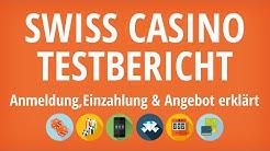 Swiss Casino Testbericht: Anmeldung & Einzahlung erklärt [4K]