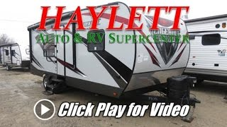 HaylettRV.com - 2017 Vengeance 23FB13 Half Ton Towable Toy Hauler Travel Trailer by Forest River RV