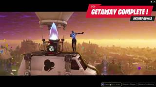 HOW TO WIN GETAWAY ALWAYS - EASY STRATEGY! [FORTNITE BATTLE ROYALE]