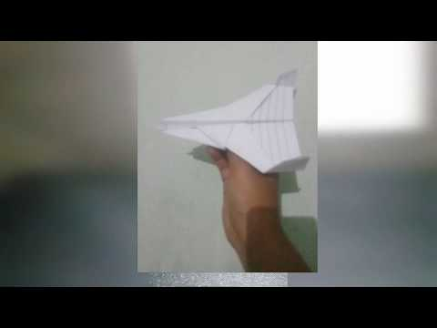 How to make a paper fighters plane