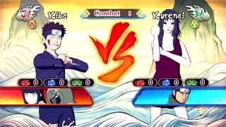 Kiba (Shino - Hinata) VS Kurenai (Asuma)
