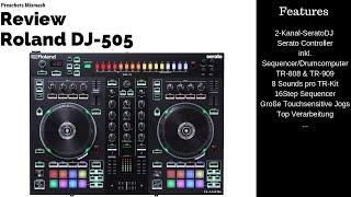 Roland DJ-505 Serato DJ Controller mit Drumcomputer Review (Full HD 2018 German)