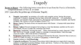 25) Tragic Terms in Action