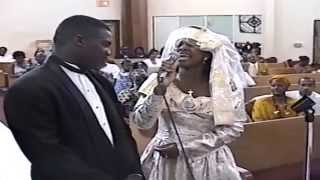I Believe in You and Me: Bride sings to Groom