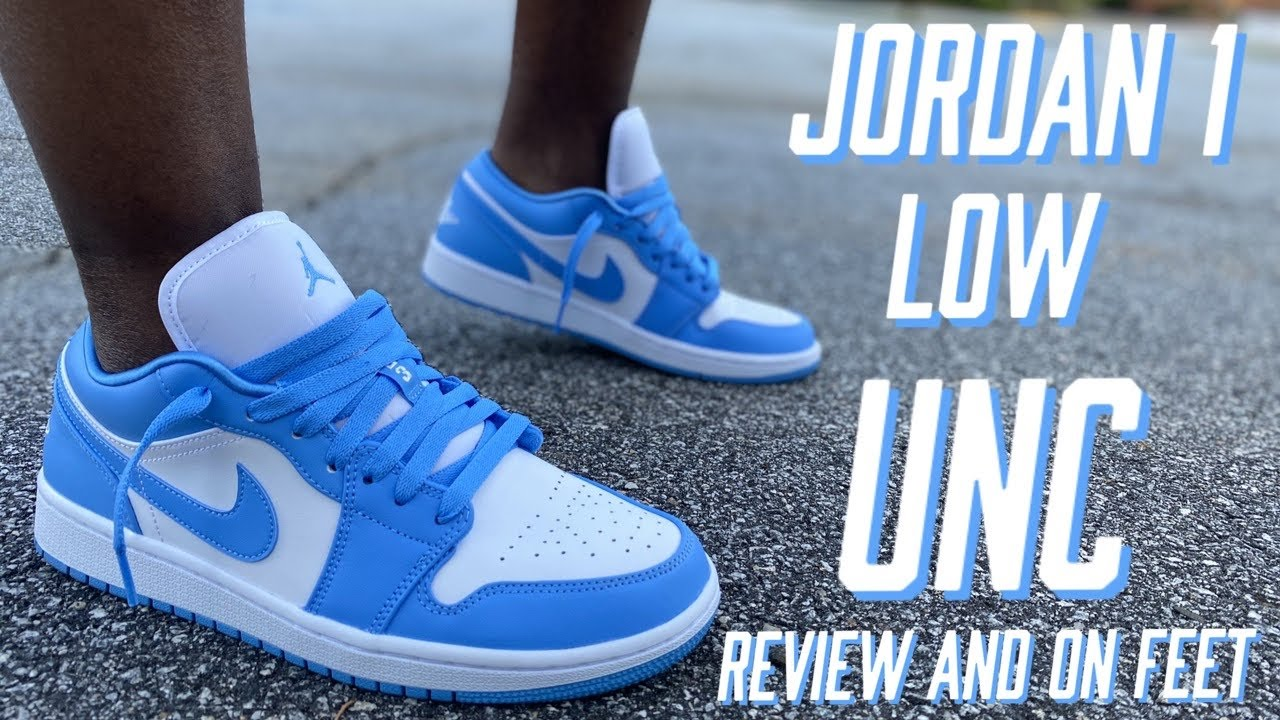 JORDAN 1 LOW UNC REVIEW AND ON FEET