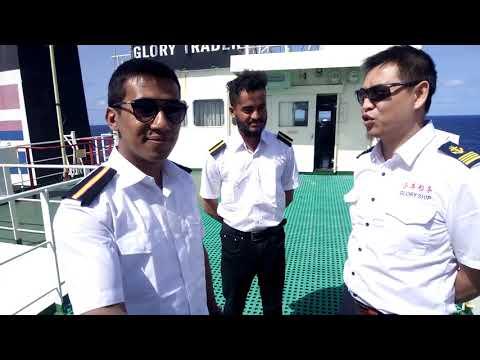 Captains Interview. A Bangladeshi seafarer onboard.! #seamanseye #raihanshajib