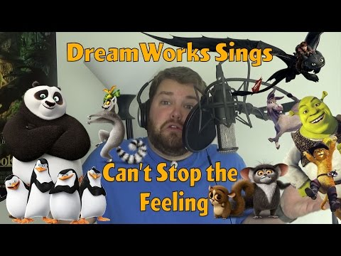 DreamWorks Sings Cant Stop the Feeling