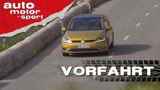 VW Golf Facelift: Neuer Motor und Gestensteuerung - Vorfahrt | auto motor und sport