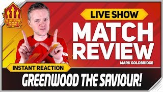 GOLDBRIDGE! GREENWOOD SUPERB! Manchester United 1-0 Astana Match Reaction