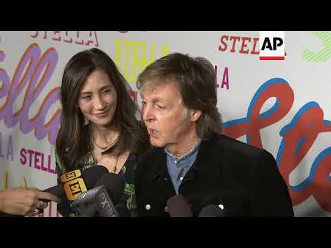 Paul McCartney, Katy Perry, more support Stella McCartney at the British designer's Hollywood fashio