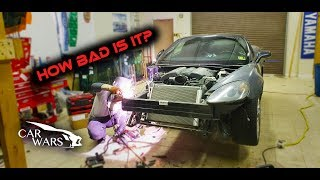 Rebuilding Wrecked 2011 Corvette Grand Sport Part 2
