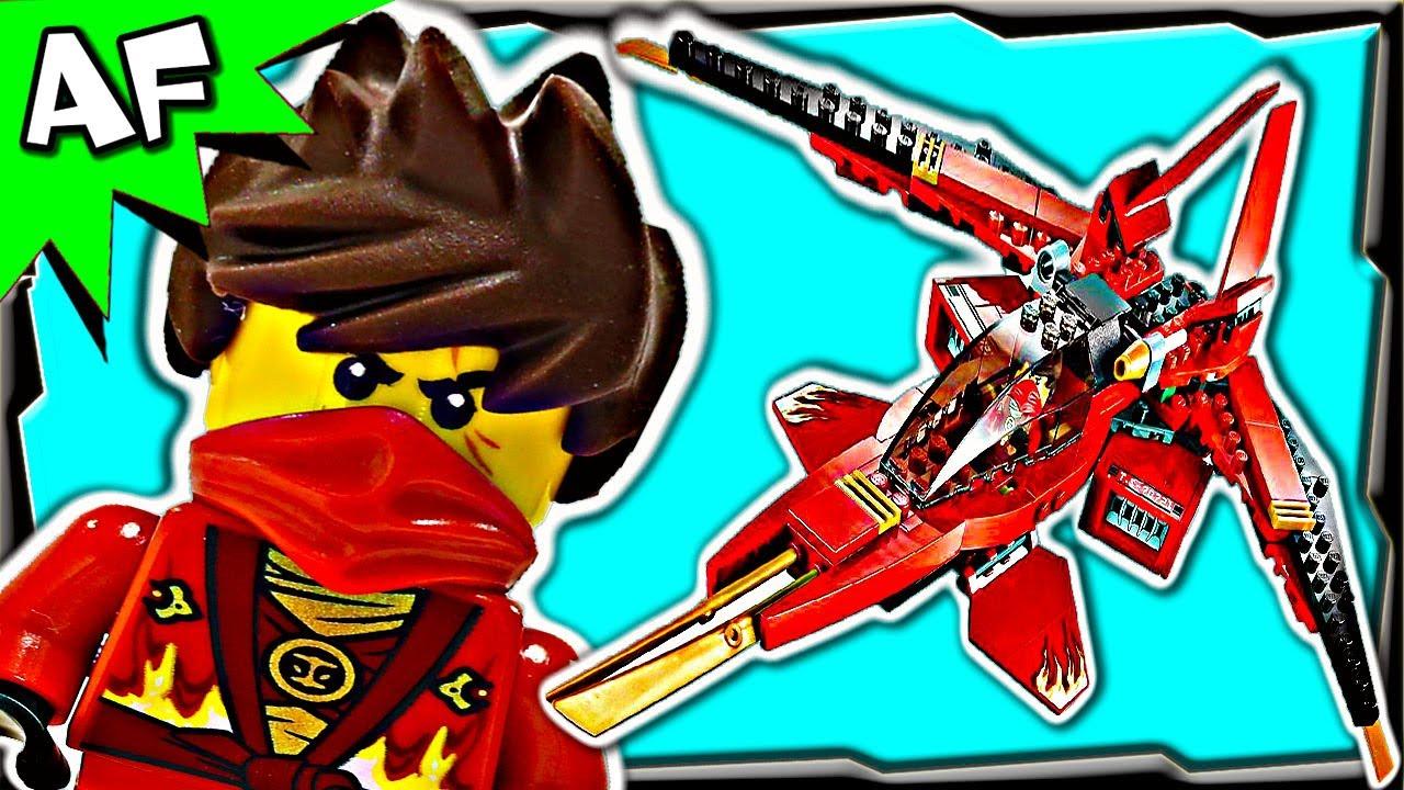 kai fighter 70721 lego ninjago rebooted animated stop