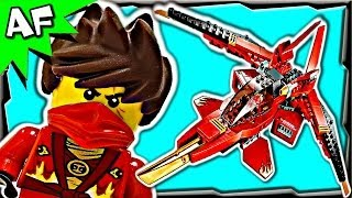 KAI FIGHTER 70721 Lego Ninjago Rebooted Animated Stop Motion Set Review