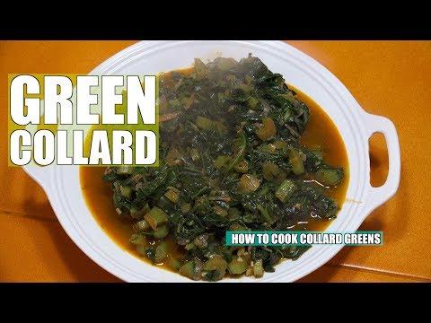 How to cook Collard Greens - Collard Greens - Easy Collard Green Recipe