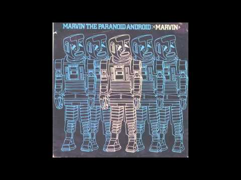 Marvin, the Paranoid Android - B Side: Metal Man [HQ Sound + Lyrics]