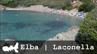 Isola d'Elba | Spiaggia di Laconella | Panorama e Mappa
