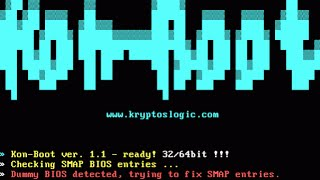 Bypass Forgotton Windows Password using Kon-Boot