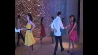 с. Аликово 2012 Нина Егорова танец  Стиляги.wmv