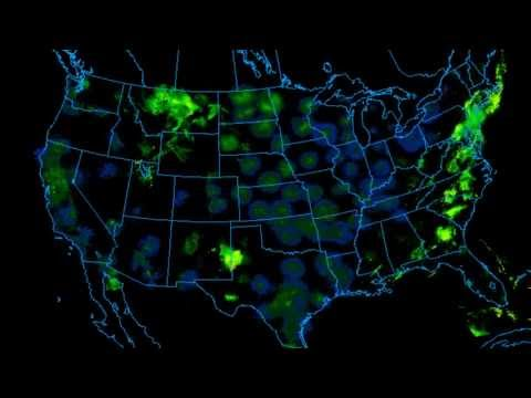 Radar Imagery for Contiguous United States - June 2013