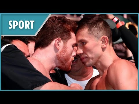 Canelo Vs GGG: Canelo Alvarez And Gennady Golovkin's Dramatic Weigh-in