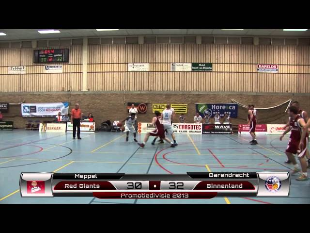 Binnenland Heren 1 vs Red Giants