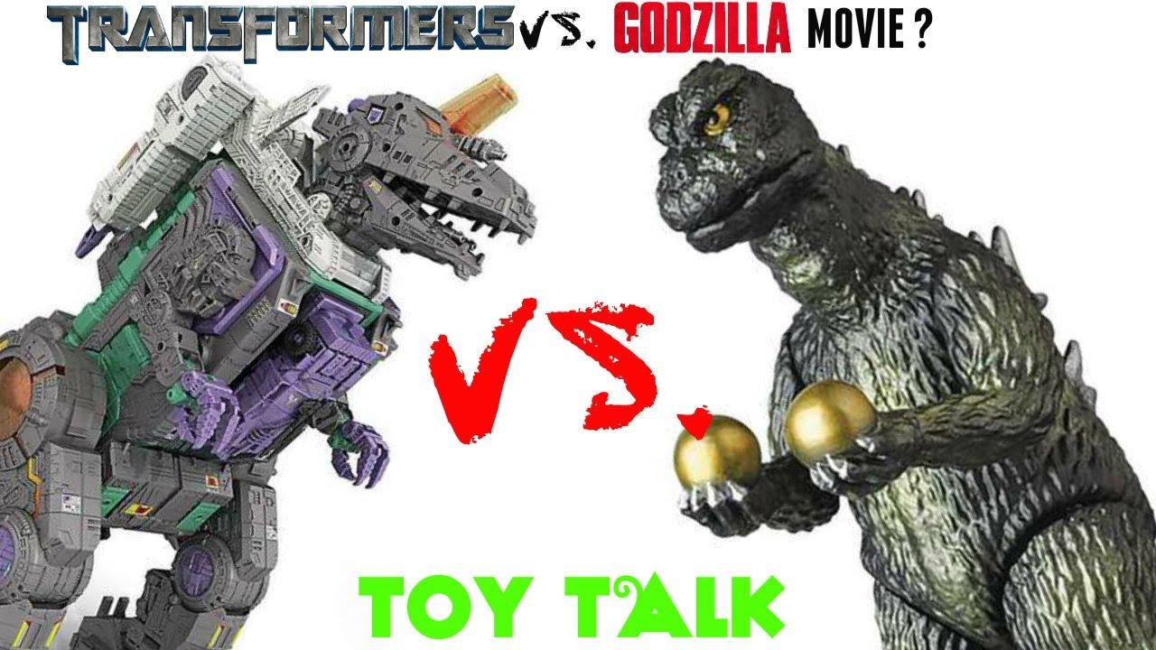 transformers vs godzilla movie amp more random toy and