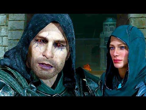 Shadow of War: The Blade of Galadriel All Cutscenes Movie