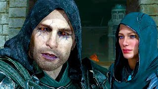 Shadow of War: The Blade of Galadriel All Cutscenes Movie