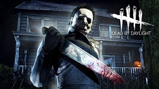 PLAYING AS MICHAEL MYERS!! (Dead by Daylight, Halloween DLC)
