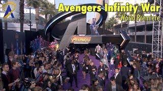 Avengers Infinity War Purple Carpet World Premiere in Hollywood
