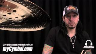 "Sabian 19"" AA Holy China Cymbal - Brilliant - played by Xavier Muriel (21916CSB-1022813I)"