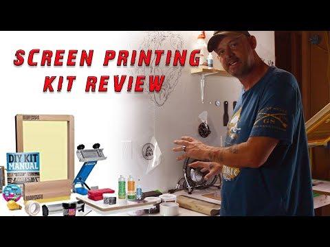 Ryonet DIY Screen Printing Kit Review // Start Screen