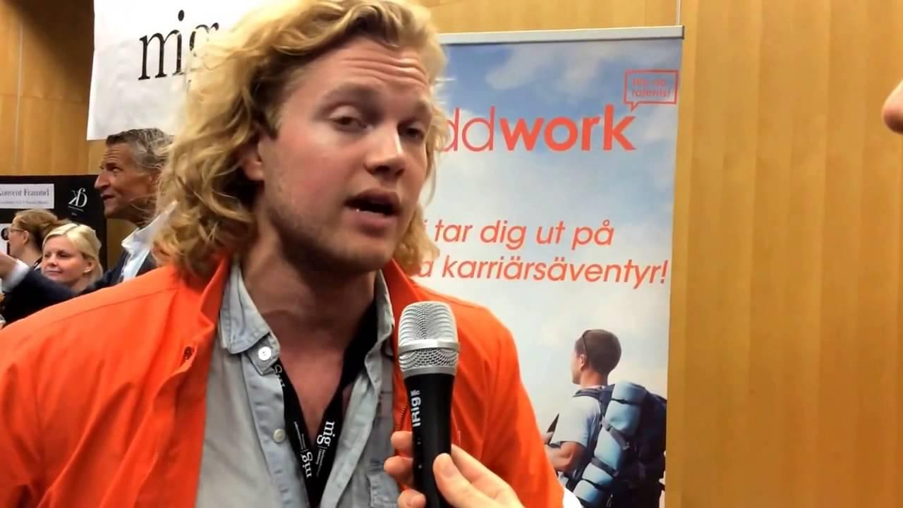Oddwork, utställare pa Marknadsföreningens Dag 2014