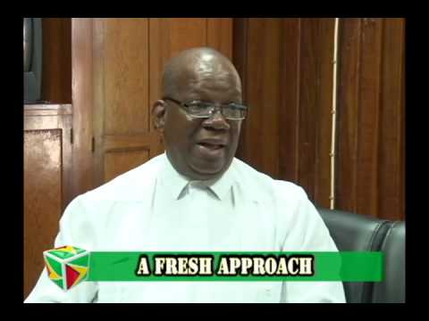 A Fresh Approach with Minister Winston Jordan