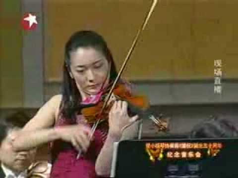 Butterfly Lovers Violin Concerto by Akiko Suwanai (part 2) 梁祝 小提琴协奏曲 诹访内晶子
