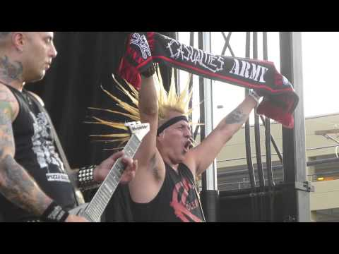 The Casualties (Live in Las Vegas, Punk Rock Bowling) 2013