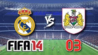 Let's Play FIFA Battle #3 - Real Madrid vs. Bristol City [German]