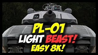 armored warfare pl 01 beast of a light tank best tank in the game