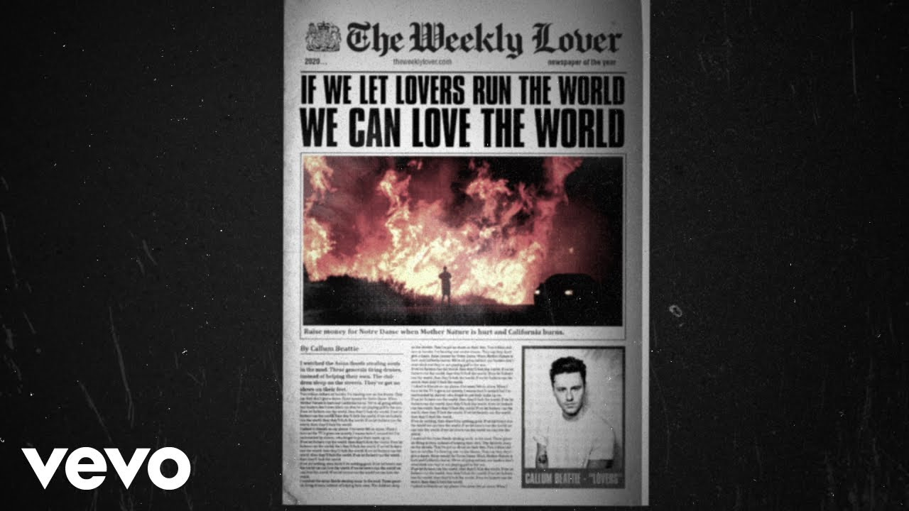 Callum Beattie – Lovers (Lyric Video)