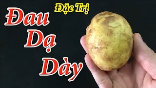 How much stomach pain should be overcome by a potato and do it this way