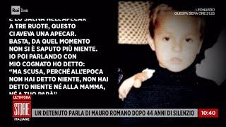 Https://www.raiplay.it/programmi/storieitaliane - un mistero lungo e doloroso quello della scomparsa di mauro romano, il bimbo 6 anni svanito nel nulla ne...