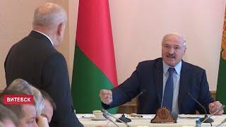 Лукашенко: Жирует жульё! Посадим 200-300 человек – поймут! Жёсткий разговор по АПК Витебщины