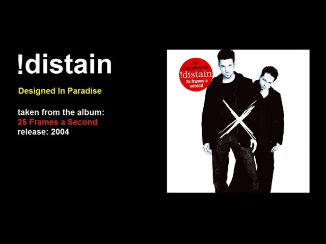 !distain - Designed In Paradise