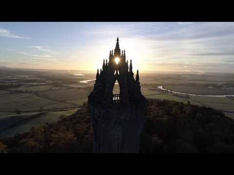 Wallace Monument, Stirling 4K 11th November 2017