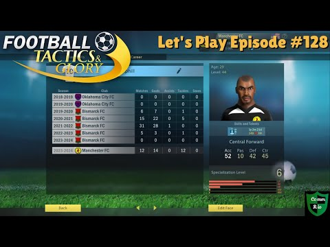 Hemphill Takes On His Old Team-Let's Play Football Tactics & Glory Ep. 128 |